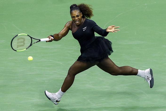 Serena Williams wears a tutu for US Open game. [Photo: Getty]