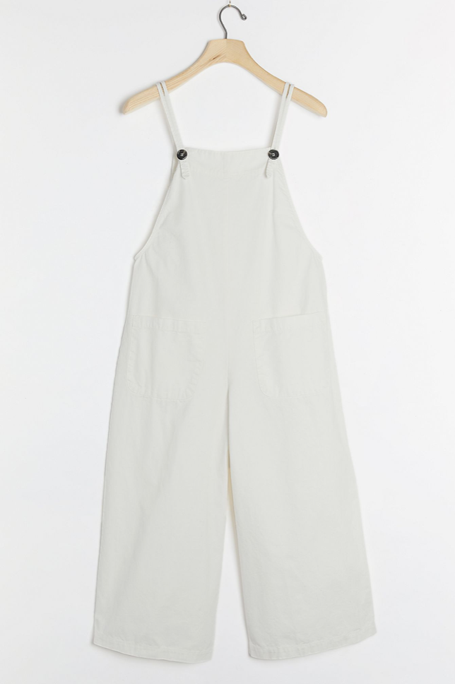 Velvet by Graham & Spencer Brianna Cropped Overalls (Photo via Anthropologie)
