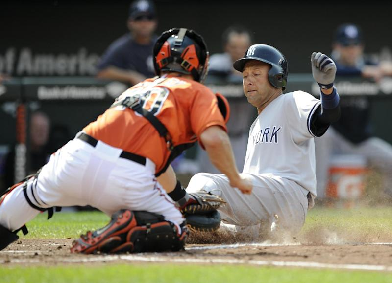 Orioles get only 5 hits in 3-0 loss to Yankees