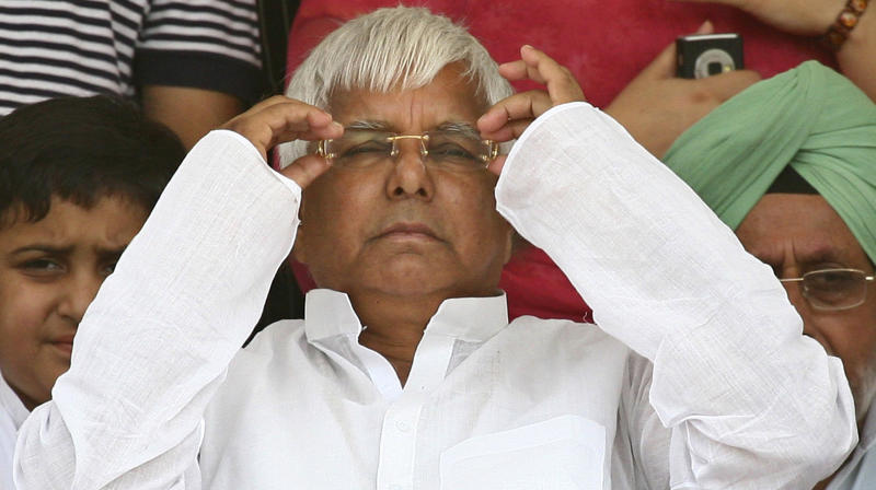 Deliberately Dragged Into the Mud: Lalu on Soil Scam Accusation