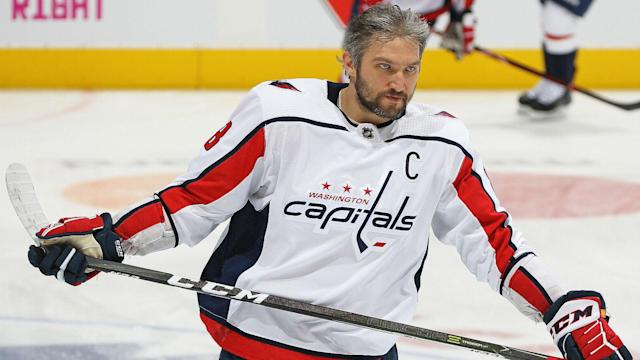 """""""I think it is very important to spend time to help make people all over the world see how great a game hockey is,"""" Ovechkin said."""