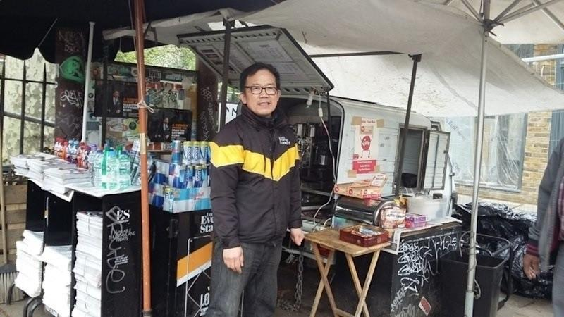 Londoners rally behind beloved Chinese coffee vendor Frank Wang, a symbol in battle against hipster gentrification