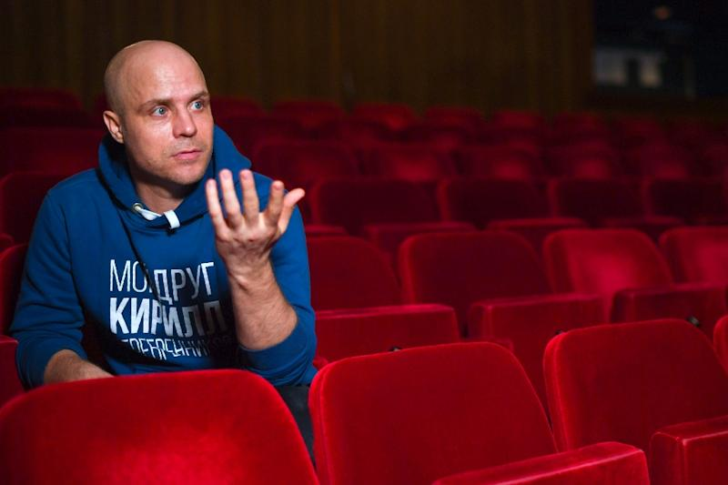 Yevgeny Kulagin, a colleague and friend, became the show's co-director (AFP Photo/Patrik STOLLARZ)