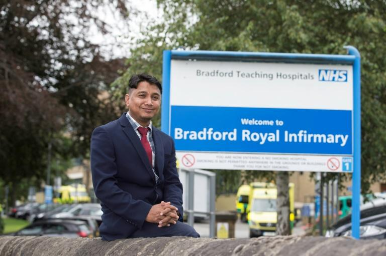 Nijam Uddin Mohammed arrived in Britain with his Rohingya family in 2008, and now works as a part-time interpreter for the National Health Service in Bradford