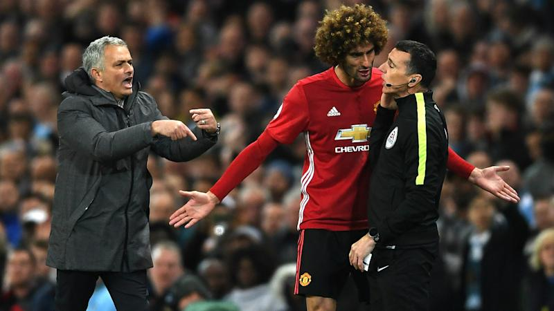 Marouane Fellaini Manchester United Premier League