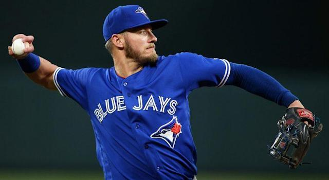 Josh Donaldson's calf injury is not the only concerning thing about the Toronto Blue Jays' 1-5 start. (Daniel Kucin Jr/CSM/REX/Shutterstock)