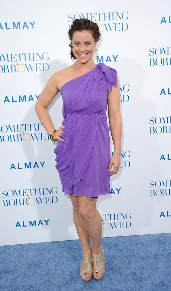 """<a href=""""http://movies.yahoo.com/movie/contributor/1800361109"""">Ashley Williams</a> attends the Los Angeles premiere of <a href=""""http://movies.yahoo.com/movie/1810158033/info"""">Something Borrowed</a> on May 3, 2011."""