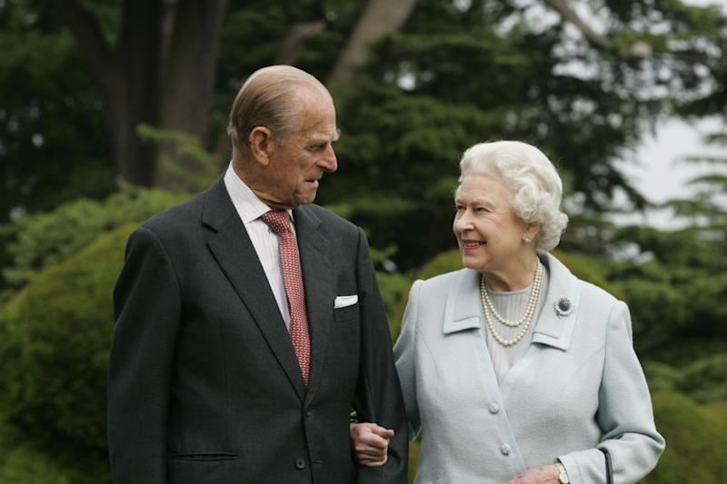 The Queen gave Prince Philip a knighthood for their wedding anniversary. Photo: Getty Images