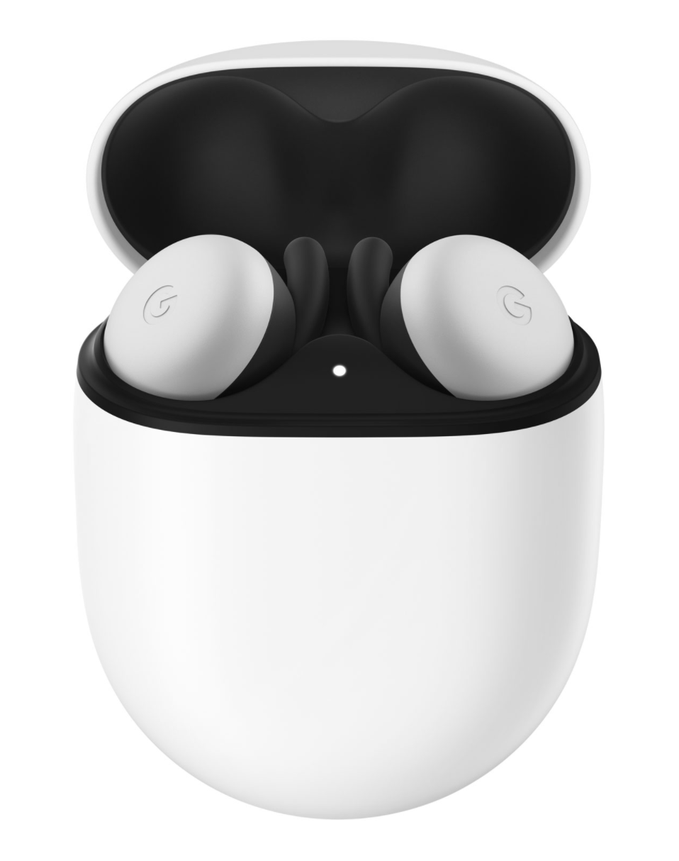 Google Pixel Buds Wireless Headphones in Clearly White (Photo via Best Buy Canada)
