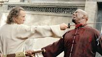 <p> <strong>What Was Cut:&#xA0;</strong>Bill (David Carradine) fights Michael Jai White in an epic skirmish that never should have been cut - mostly because it shows us just how deadly Bill can be. </p> <p> If he can better Michael Jai White, we should definitely be afraid. Very afraid. </p> <p> <strong>If It Had Stayed In:&#xA0;</strong>It would have livened up what is an undeniably talky sequel, made Bill a more tangible threat, and given that last scene between the Bride and her prey a great deal more tension.&#xA0; </p>
