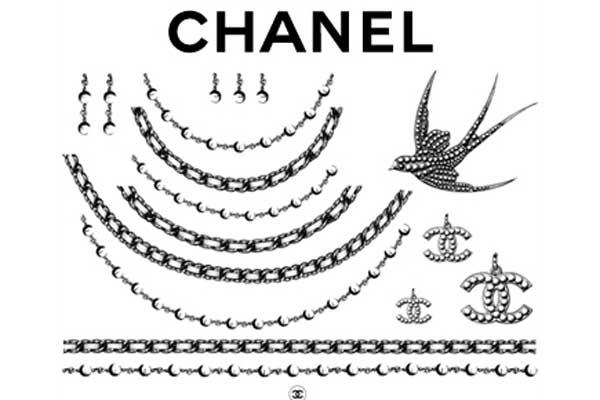Chanel To Sell Velvet Logo Beauty Transfers As Debuted At Yesterday's Show In Versailles