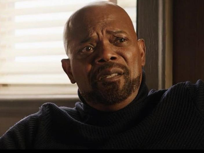 Critics were disappointed with how the writers depicted Samuel L. Jackson's character.