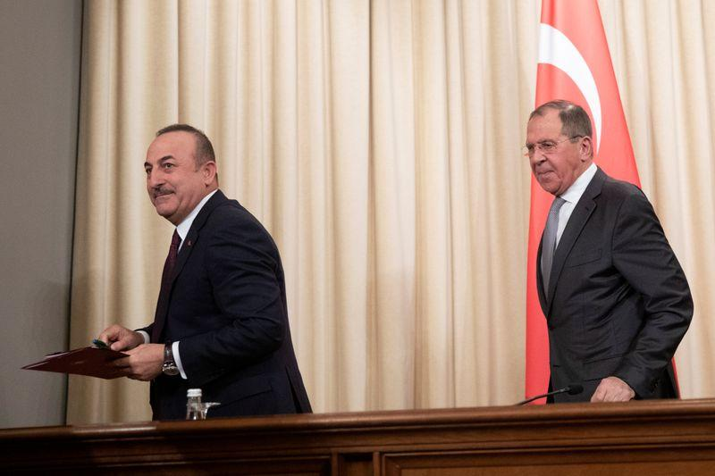 Russian, Turkish foreign ministers to meet on Sunday amid Syria tensions - Ifax