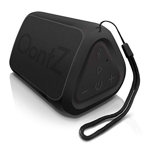 OontZ Angle Solo - Bluetooth Portable Speaker, Compact Size, Surprisingly Loud Volume & Bass, 100 Foot Wireless Range, IPX5, Perfect Travel Speaker, Bluetooth Speakers by Cambridge Sound Works (Black) (Amazon / Amazon)