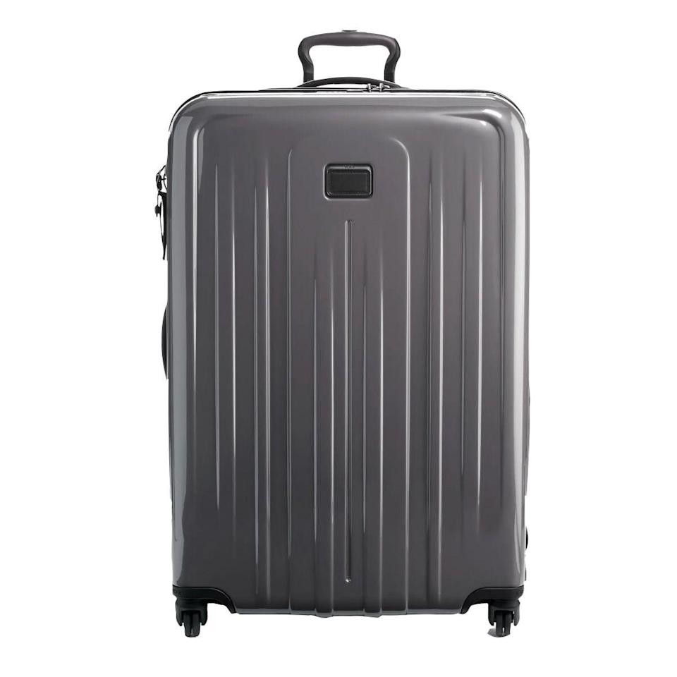 """<p><strong>Tumi</strong></p><p>nordstrom.com</p><p><a href=""""https://go.redirectingat.com?id=74968X1596630&url=https%3A%2F%2Fwww.nordstrom.com%2Fs%2Ftumi-v4-collection-31-inch-extended-trip-expandable-spinner-packing-case%2F5288749&sref=https%3A%2F%2Fwww.esquire.com%2Fstyle%2Fmens-accessories%2Fg36675557%2Fluggage-sale-nordstrom%2F"""" rel=""""nofollow noopener"""" target=""""_blank"""" data-ylk=""""slk:Shop Now"""" class=""""link rapid-noclick-resp"""">Shop Now</a></p><p><strong><del>$750</del> $525 (30% off)</strong></p>"""