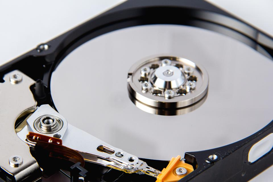 The naked eye cannot see how much junk is stored on your computer's hard drive.  (Photo: Getty)
