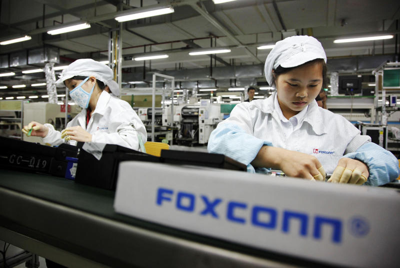 Taiwan's Foxconn says biggest challenge is U.S.-China trade war