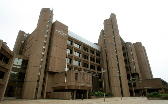General view of Liverpool crown court.