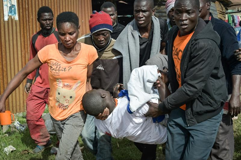 Five die as police battle Nasa supporters welcoming Raila