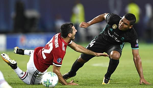 Premier League: Manchester United: Interesse an Real Madrids Casemiro?