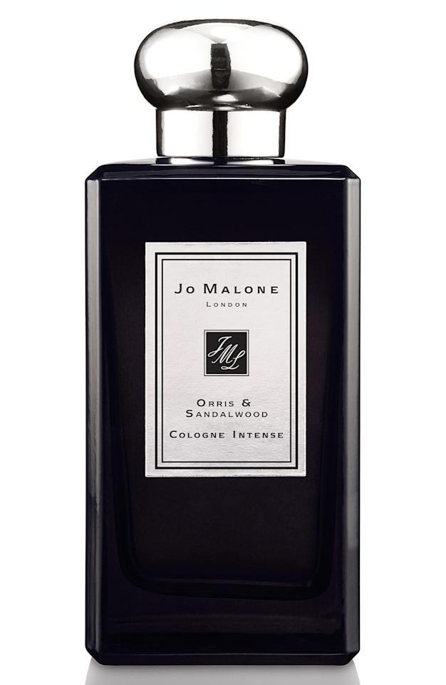 """<p>This newly-launched scent from the storied British house features a contemporary and beguiling blend of violet, orris, and sandalwood. Warm, sensual, and subtly spicy, consider this a masculine floral scent – especially great for guys who aren't afraid to push boundaries a bit. <b><a href=""""http://www.jomalone.com/product/3551/38740/Fragrances/Colognes/Orris-Sandalwood-Cologne-Intense"""">Jo Malone Orris & Sandalwood ($170)</a></b></p>"""