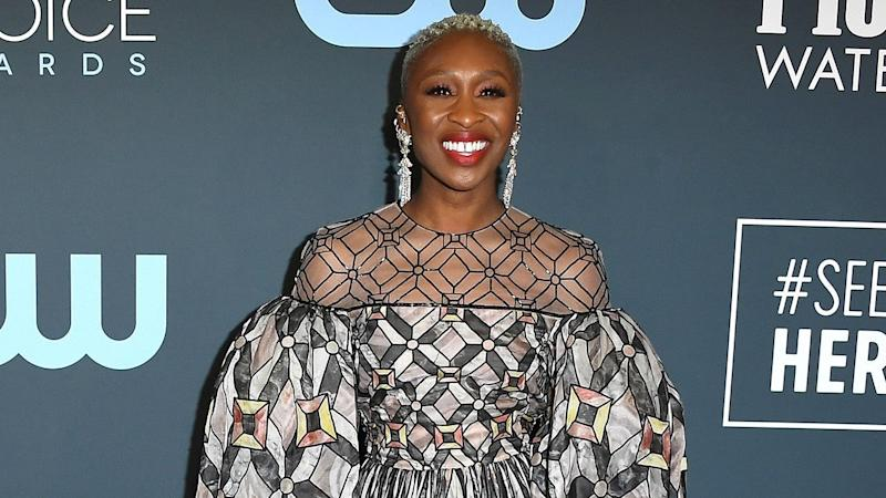 Cynthia Erivo Stuns in Geometric Gown at Critics' Choice Awards 2020