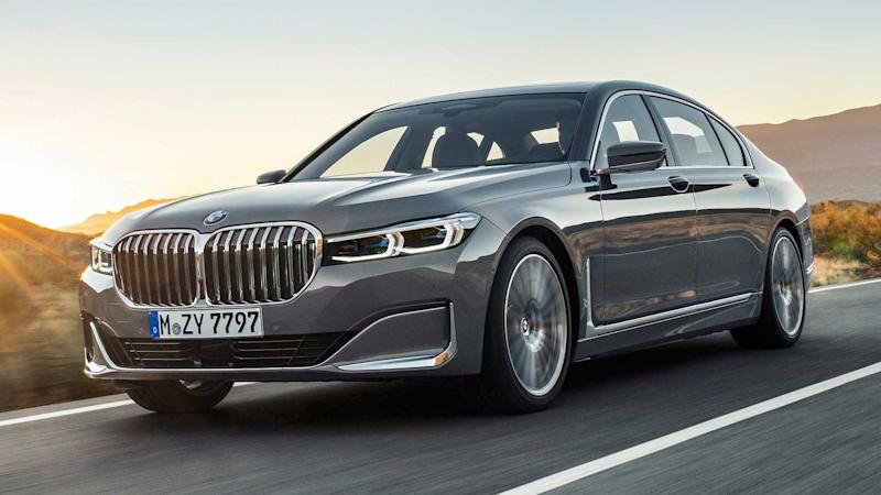 2020 Bmw 7 Series Facelift Revealed With Bold Grille New V8