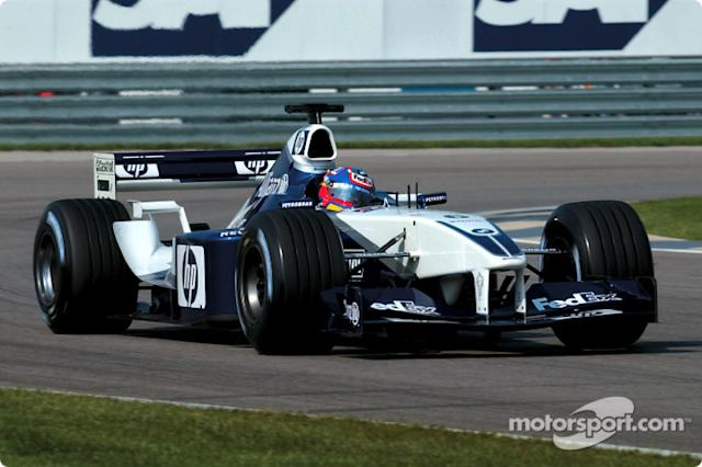 "2002: Williams-BMW FW24 <span class=""copyright"">BMW AG</span>"