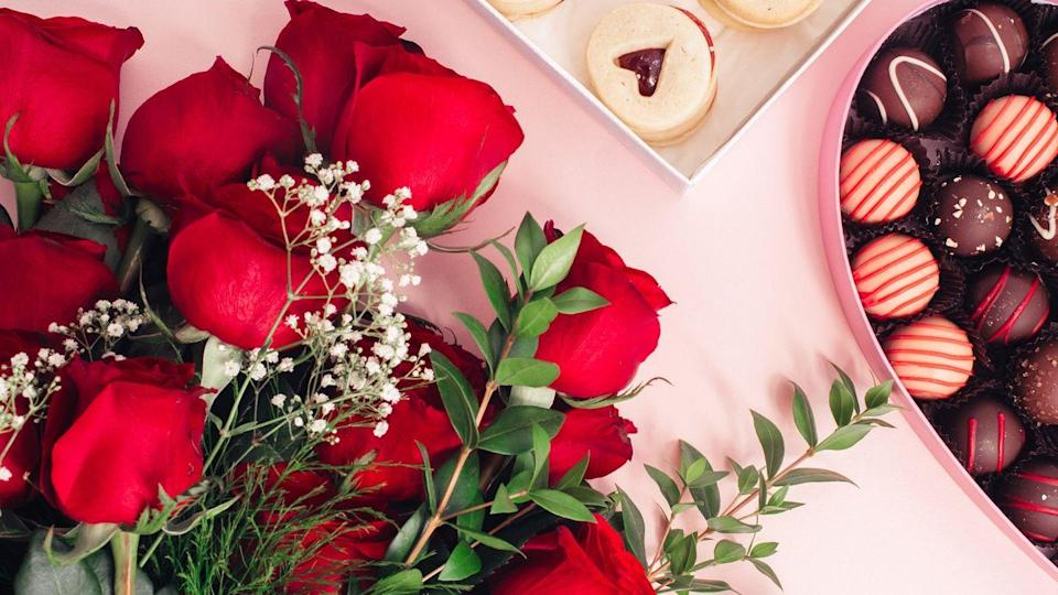 """<p>Because a romantic dinner for two isn't complete without a rose bouquet and heart-shaped box of chocolates.</p><p><a class=""""link rapid-noclick-resp"""" href=""""https://go.redirectingat.com?id=74968X1596630&url=https%3A%2F%2Fwww.1800flowers.com%2Fvirtual-backgrounds&sref=https%3A%2F%2Fwww.goodhousekeeping.com%2Fholidays%2Fvalentines-day-ideas%2Fg35192608%2Fvalentines-day-zoom-backgrounds%2F"""" rel=""""nofollow noopener"""" target=""""_blank"""" data-ylk=""""slk:DOWNLOAD HERE"""">DOWNLOAD HERE</a></p>"""