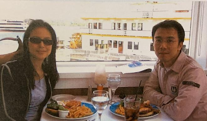 Cheyenne Chan and Wilson Fung dining out in Washington in 2005. Photo: Handout