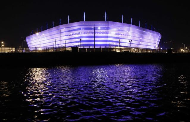 <p>Kaliningrad Stadium, Kaliningrad<br>Year opened: 2018<br>Capacity: 35,212<br>Which games: Four group games<br>Fun fact: Situated in an enclave between Poland and Lithuania, it's the only stadium separate to mainland Russia. </p>