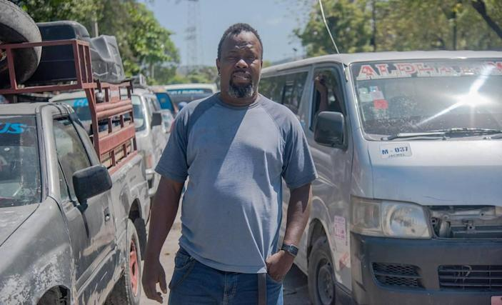 Petrus Lerice, 45, is a bus driver and spokesperson for the Association of Owners and Drivers of Haiti. He said the country's widening insecurity is having a negative effect on the industry, and putting bus drivers and passengers in harm's way.
