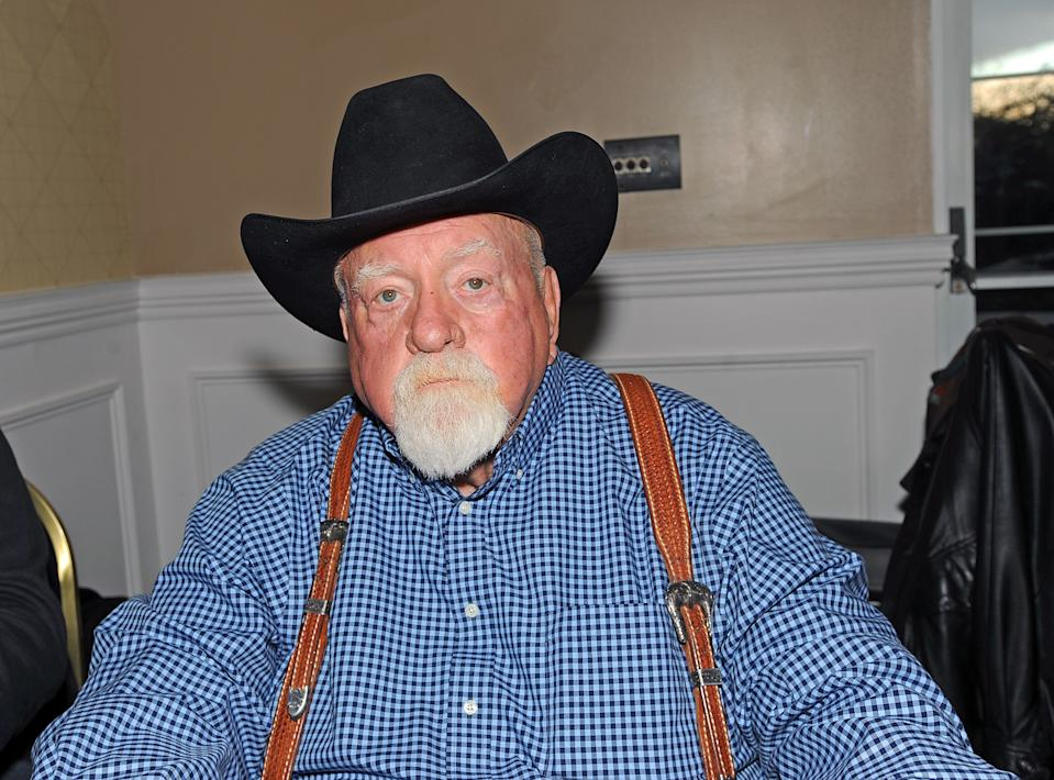 CHERRY HILL, NJ - MARCH 10: Wilford Brimley attends the 2017 Monster Mania Con at NJ Crowne Plaza Hotel on March 10, 2017 in Cherry Hill, New Jersey. (Photo by Bobby Bank/Getty Images)