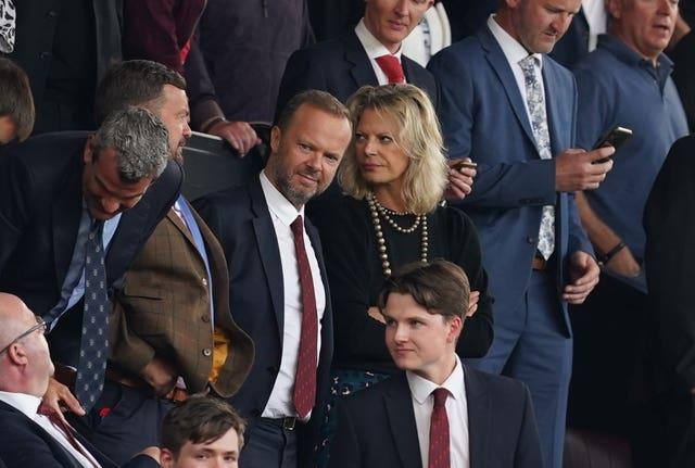 Ed Woodward was at Old Trafford for Cristiano Ronaldo's second Manchester United debut against Newcastle