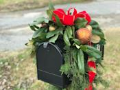 "<p>This mailbox also features magnolia leaves, but the secret it its success is a foundation of artificial greenery.</p><p><strong>Get the tutorial at <a href=""https://jenniferdecorates.com/christmas-mailbox-swag.html"" rel=""nofollow noopener"" target=""_blank"" data-ylk=""slk:Jennifer Decorates"" class=""link rapid-noclick-resp"">Jennifer Decorates</a>.</strong></p><p><a class=""link rapid-noclick-resp"" href=""https://www.amazon.com/Dykes-Alicates-diagonal-alambre-4-5/dp/B0733NRF2C/ref=asc_df_B0733NRF2C/?tag=syn-yahoo-20&ascsubtag=%5Bartid%7C10050.g.33605249%5Bsrc%7Cyahoo-us"" rel=""nofollow noopener"" target=""_blank"" data-ylk=""slk:SHOP WIRE SNIPS"">SHOP WIRE SNIPS</a><br></p>"