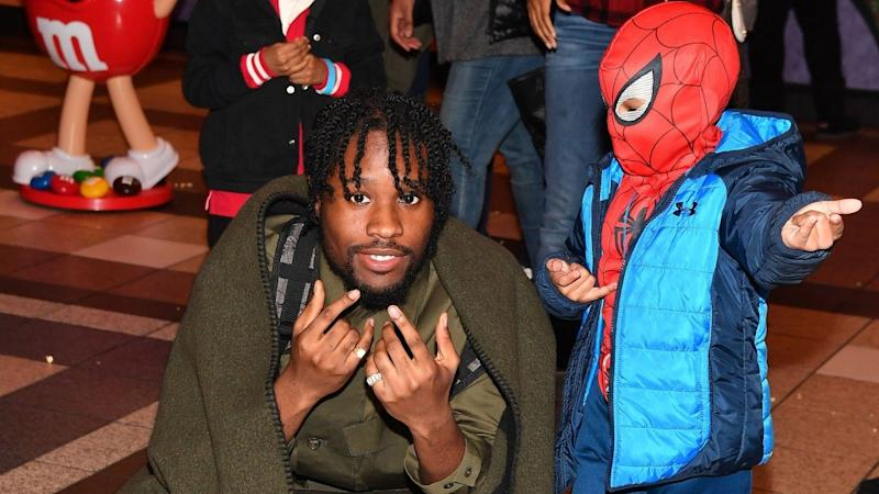 5987c00b7c8e Shameik Moore Breaks New Ground as First Black Spider-Man With His  Into  the Spider-Verse  Role
