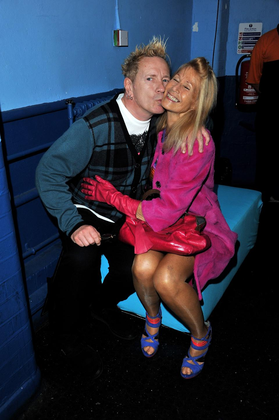 John Lydon and Nora Forster 2011. (Photo: WireImage)