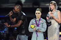 """""""Yo Taylor, I'm really happy for you, I'm going to let you finish but McKayla Maroney had one of the best vaults of all time."""""""