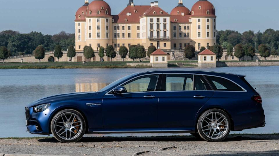 2021 Mercedes-AMG E63S Wagon First Drive Review: Think Fast