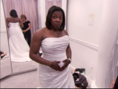 """<p>There's obviously an immense pressure to leave Kleinfeld Bridal with a dress — and having a camera crew in tow adds extra pressure — but <a href=""""https://www.thelist.com/18636/untold-truth-say-yes-dress/"""" rel=""""nofollow noopener"""" target=""""_blank"""" data-ylk=""""slk:brides are allowed to say &quot;no&quot;"""" class=""""link rapid-noclick-resp"""">brides <em>are</em> allowed to say """"no""""</a> and look f0r a dress elsewhere.</p>"""