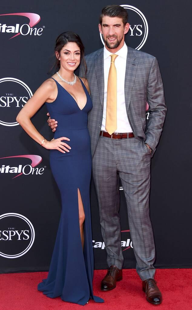Michael Phelps, Nicole Johnson, 2017 ESPY Awards, ESPYS