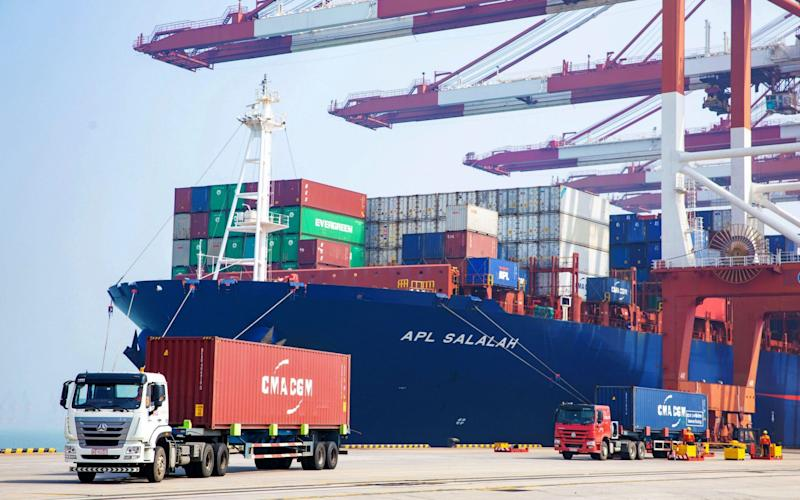 Clarkson provides 'value-added' services beyond ship broking, such as research data, to help smooth out the effect of the shipping cycle - Feature China / Barcroft Media