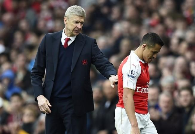 Arsene Wenger, Alexis Sanchez, contract, Arsenal, EPL,