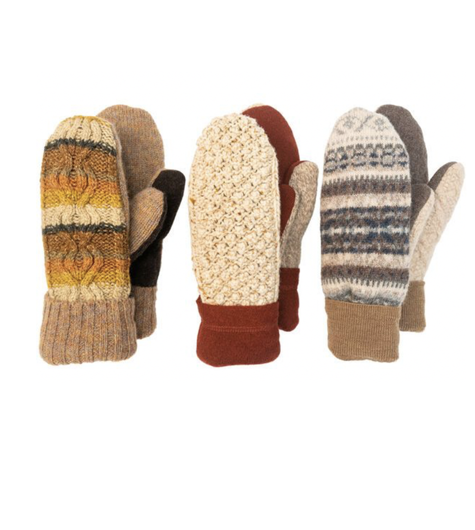 """<p>vermontteddybear.com</p><p><strong>$49.99</strong></p><p><a href=""""https://www.vermontteddybear.com/trending-now/vermont-mittens/bernie-mittens-from-vermont-mitten-co/MIT-N4474.html"""" rel=""""nofollow noopener"""" target=""""_blank"""" data-ylk=""""slk:Shop Now"""" class=""""link rapid-noclick-resp"""">Shop Now</a></p><p>Yep, you read that right. Jen Ellis, the woman who made 2021's most popular mittens, is now selling them online. Each pair is one-of-a-kind and made of upcycled sweaters. </p>"""