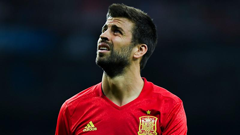 Pique committed to Spain cause