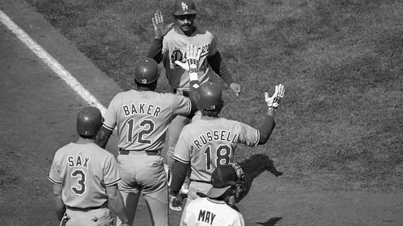 Dusty Baker and the Dodgers popularized the high five in sports