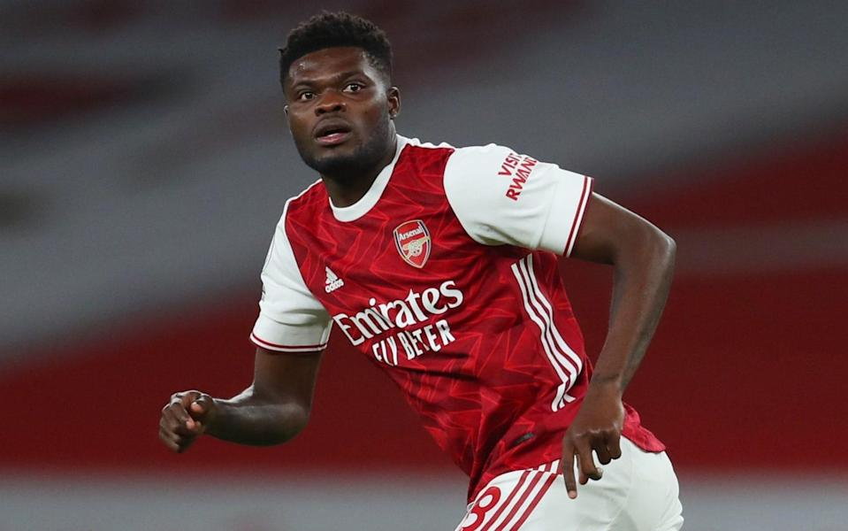 Thomas Partey playing for Arsenal - REUTERS