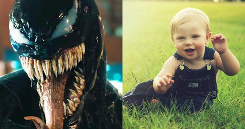 Lady Gaga, Venom, and the Best Weird Baby Costume Ideas of 2018