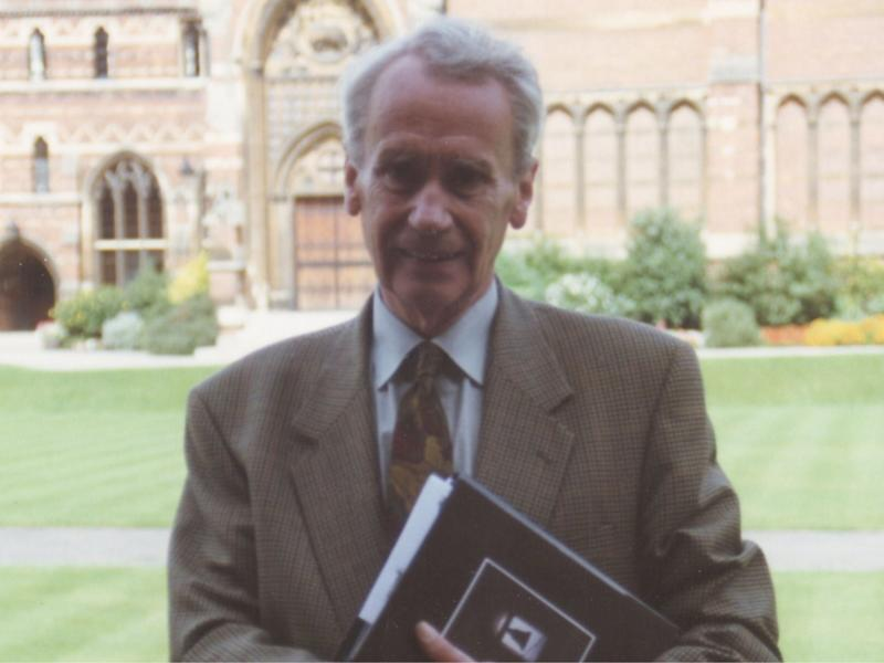 Christopher Tolkien, pictured in 1992: Tolkien Society/Charles E Noad