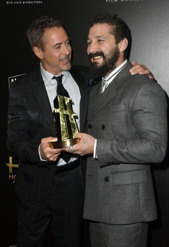 Shia LaBeouf, Robert Downey Jr.